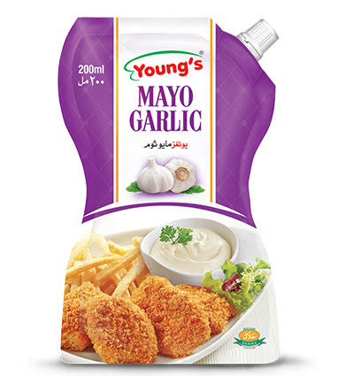 Youngs Mayo Garlic