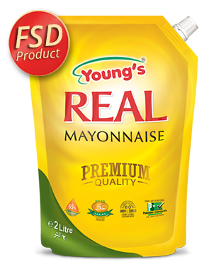 Young's REAL Mayonnaise premium quality